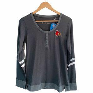 Antigua Cardinals Baseball Long Sleeve Shirt